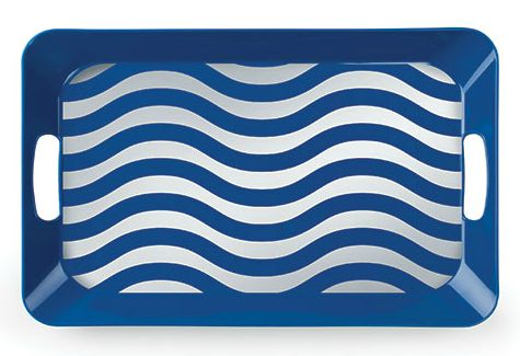 Nautical Wave Serving Tray