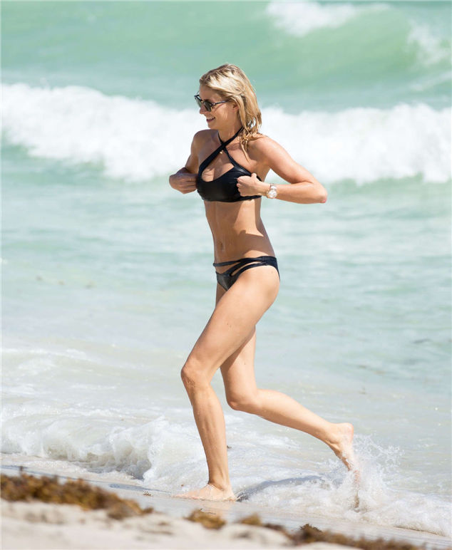 Celebrity in bikini: Lena Gercke