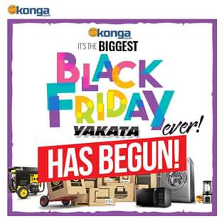 konga black Friday 2017