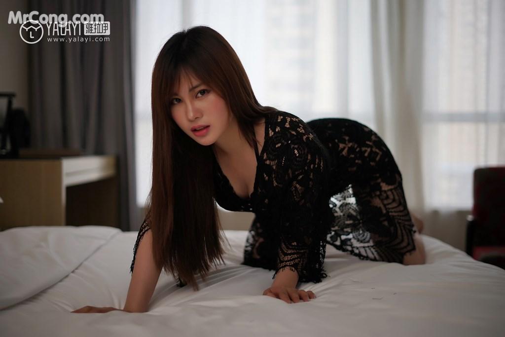 Image YALAYI-No.008-MrCong.com-009 in post YALAYI No.008: 艾妮妮 (36 ảnh)