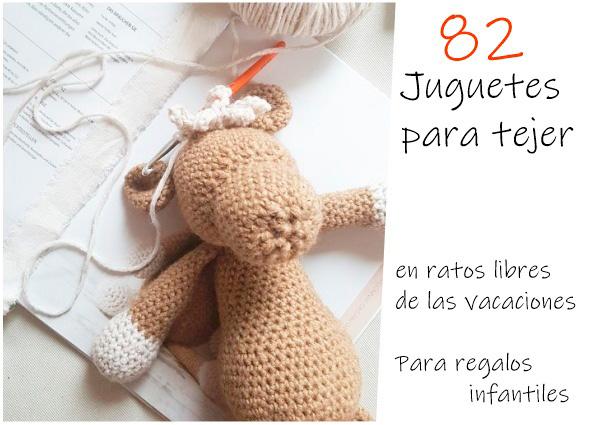 amigurimis, juguetes, crochet, ganchillo, tejer regalos