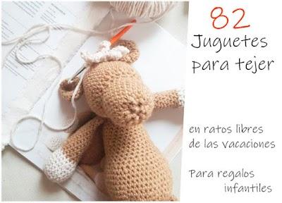 82 Juguetes Amigurimis a crochet o ganchillo
