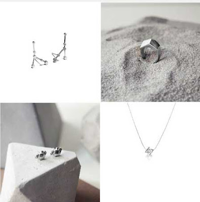 colgantes, anillos y pendientes plata de La Cabellera de Berenice