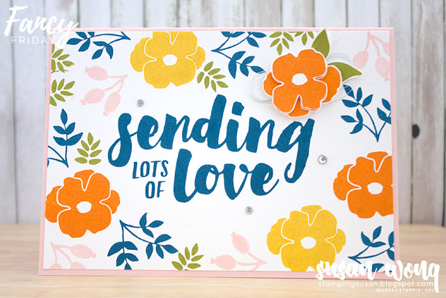Lots of Love Stamp Set - Susan Wong for Fancy Friday