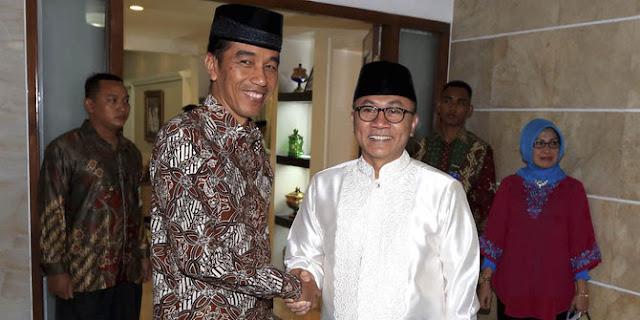Pertimbangkan Dukung Jokowi, Zulkifli Hasan 'Larang' Habib Rizieq Nyapres, Alasannya Sungguh Mulia
