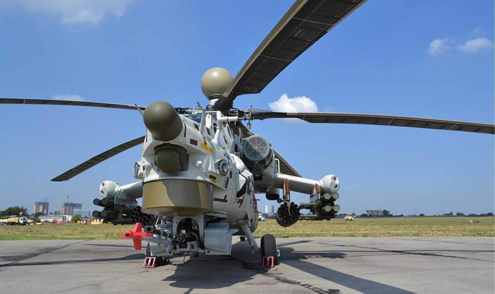 Helikopter Mi-28NM akan mempersenjatai rudal dengan jangkauan lebih dari 25 km