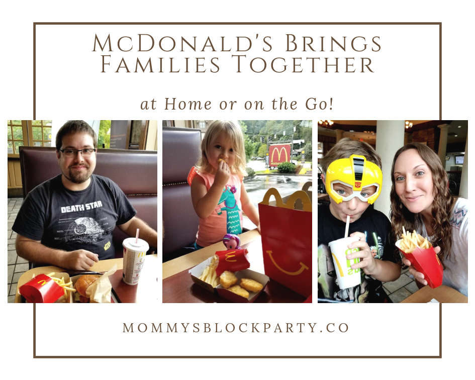 McDonald's Brings Families Together at Home or on the Go + McDonalds Prize Pack #Giveaway ($100.00 RV)