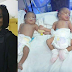 Photogist: Mrs Toyin Saraki Comes To The Rescue Of Mother Of Triplets