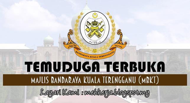 Temuduga Terbuka Terkini 2017 di Majlis Bandaraya Kuala Terengganu (MBKT)