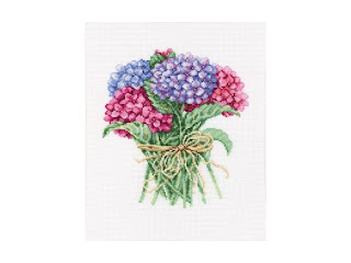 "RTO М-564 ""Букетик гортензий / Hydrangea bouquet"""