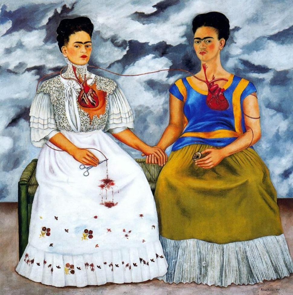 Ululati Solitari: Frida Kahlo e il suo doppio.