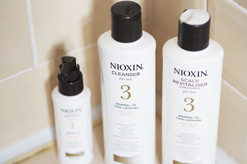 Nioxin System 3 Treatment Kit Review Alopecia Regrowth | Colours and Carousels - Scottish Lifestyle, Beauty and Fashion blog