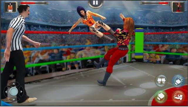 Game Gulat Wanita Women Wrestling Revolution PRO Apk