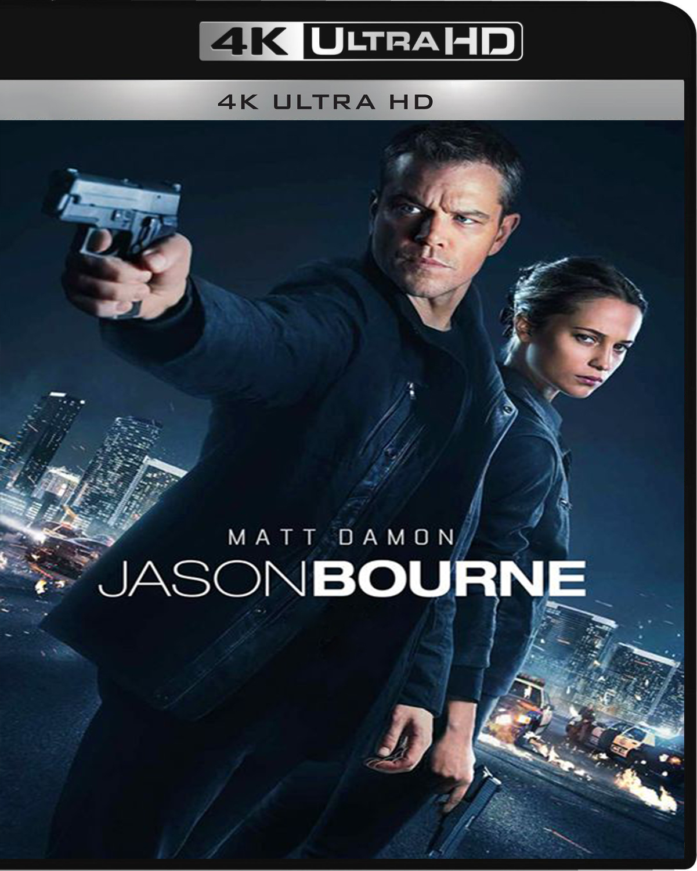 Jason Bourne [2016] [UHD] [2160p] [Latino]