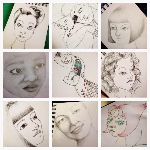 Sketchbook Round-Up | Yeti Crafts