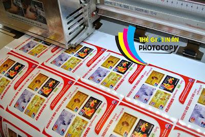 Hình ảnh sản phẩm của ngành in Việt Nam