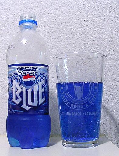 Blaue Cola