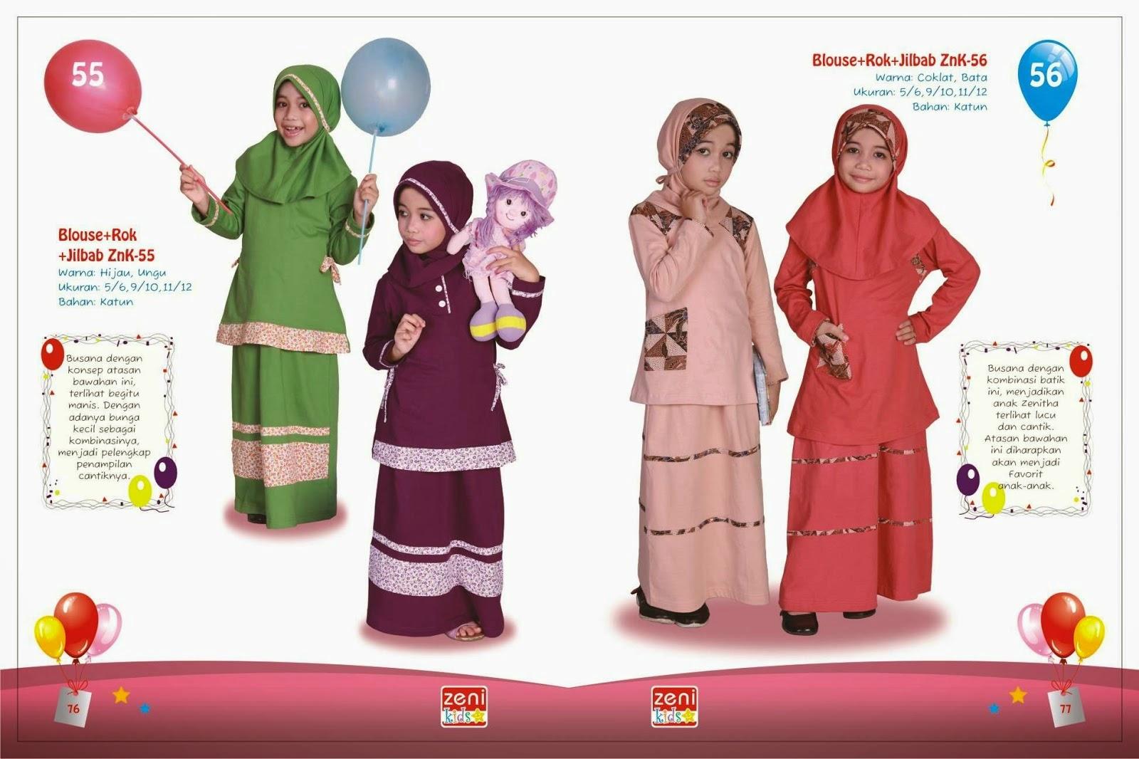 Foto Baju Gamis Anak Lucu Gamis Murni