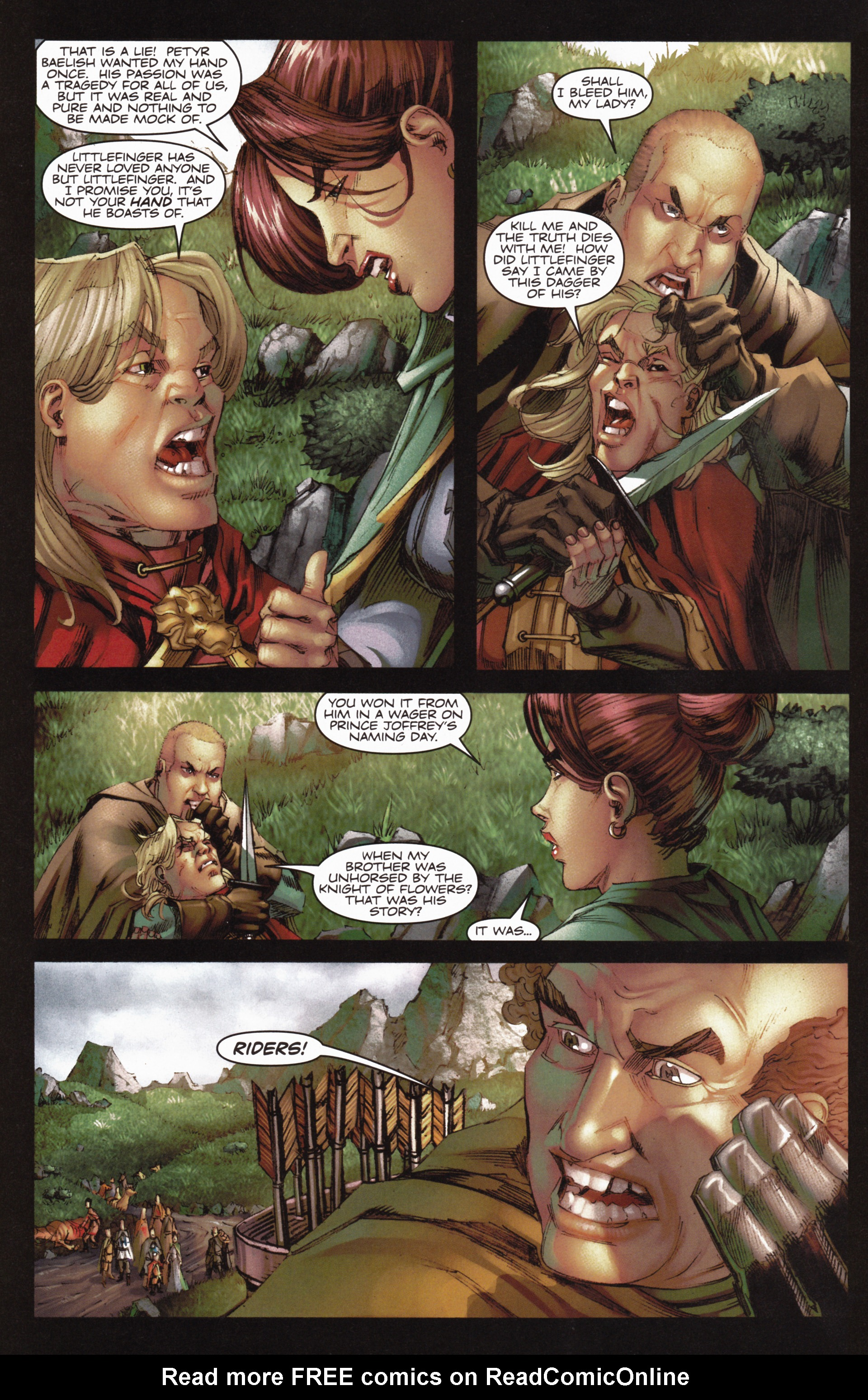 Read online A Game Of Thrones comic -  Issue #10 - 8