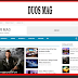 Duos Mag Blogger Template Responsive Free Download