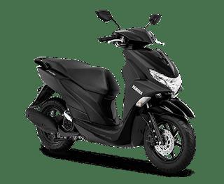 Yamaha FreeGo 125 Matte Black