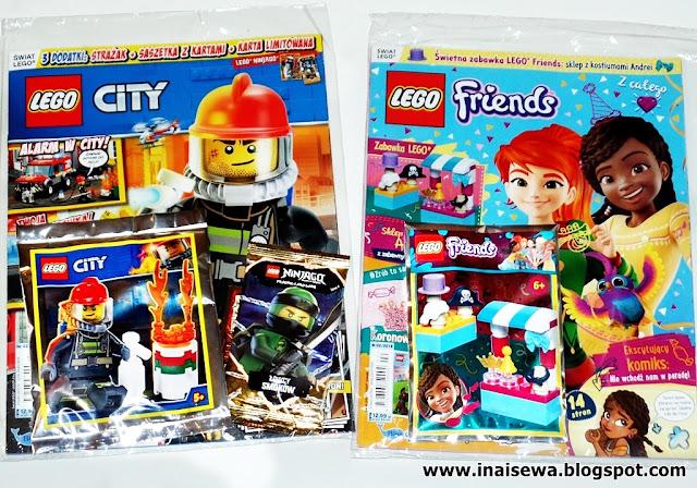 Ina I Sewa Magazyny Lego City I Lego Friends 22019