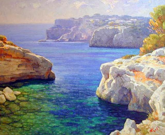 Mallorca en Pintura Guillermo Gil 1936