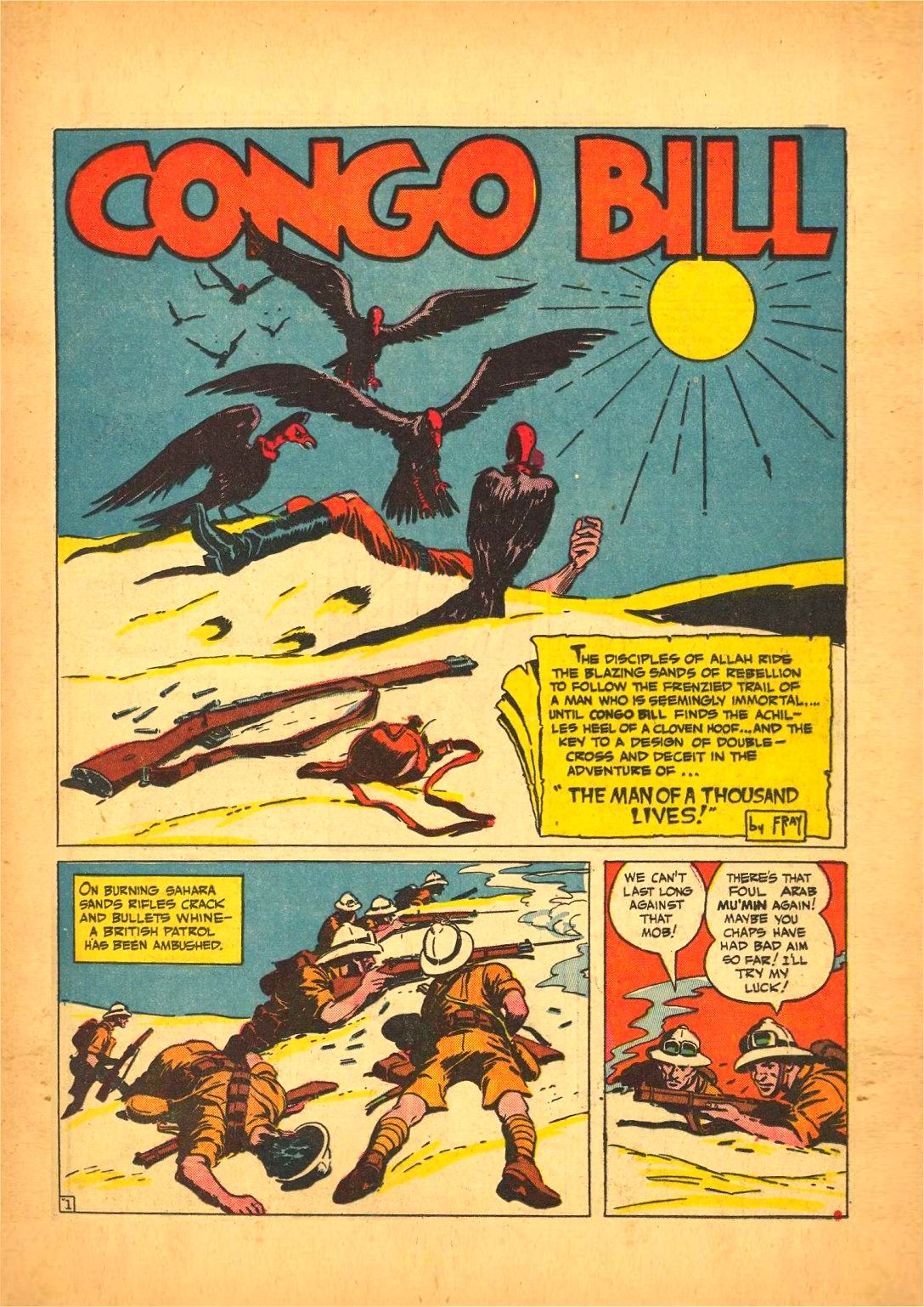 Read online Action Comics (1938) comic -  Issue #50 - 57