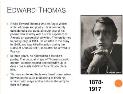 The New Year Poem Edward Thomas