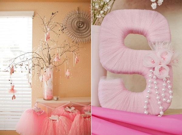 aniversario-tema-bailarina-decoração-arvore-e-letras