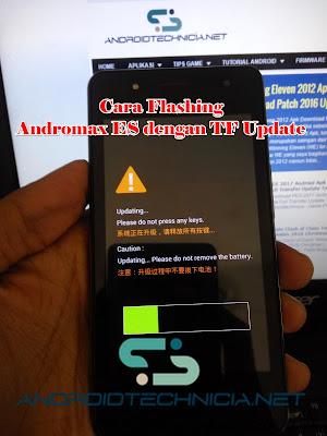 Cara Mudah Flash Andromax Es C46B2G Menggunakan TF Update