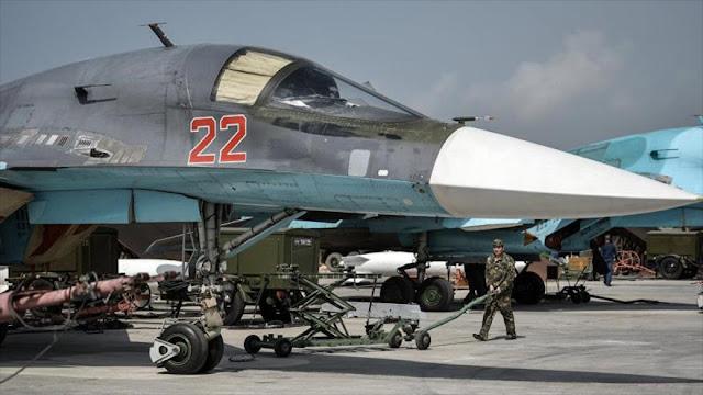 Rusia desmiente haber interceptado aviones israelíes en El Líbano