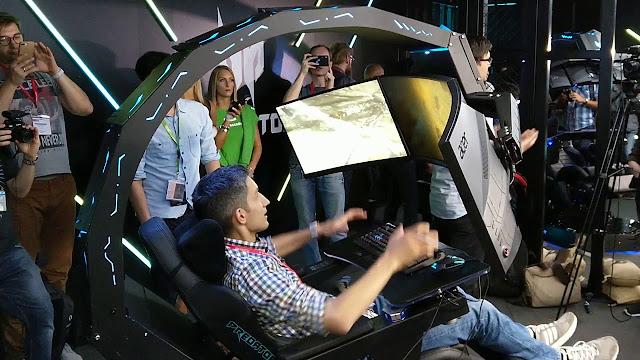 Kursi Gaming Enthusiast Acer Predator Thronos
