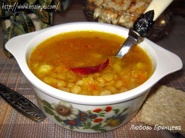 приготовление горохового супа