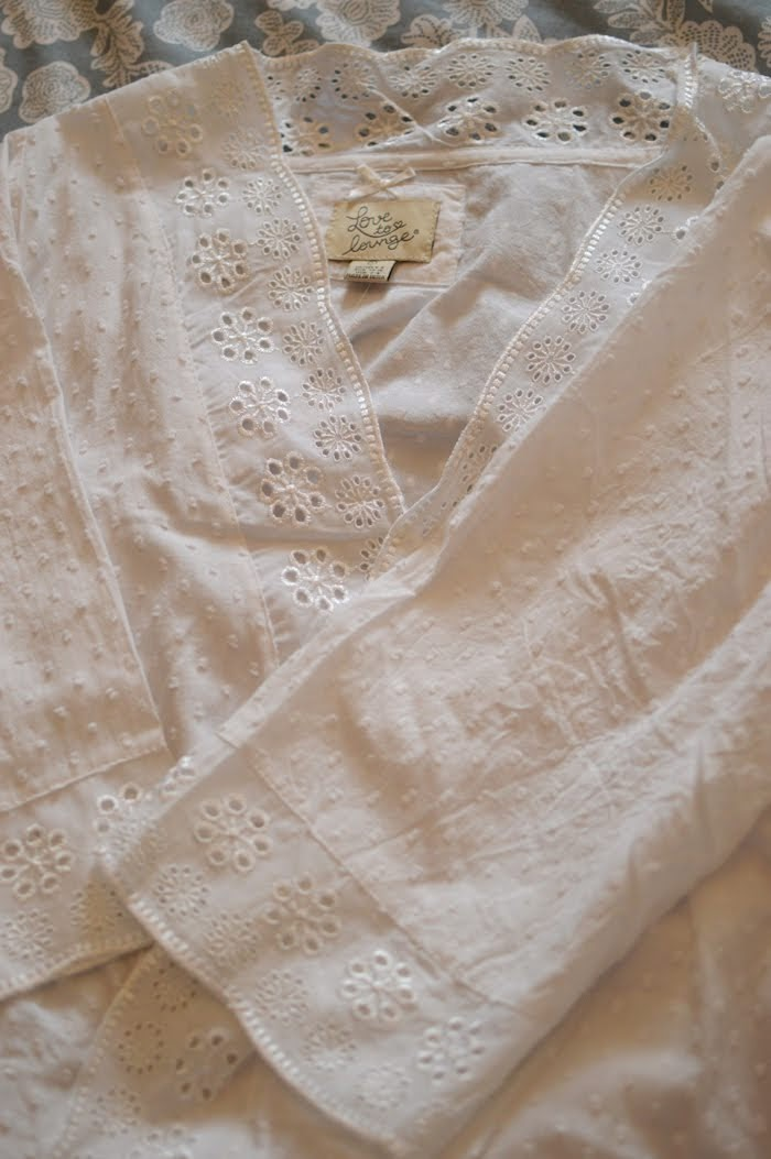 Primark Broderie Anglaise Dressing Gown