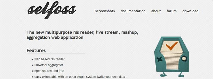selfoss RSS reader