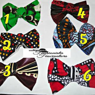 African print bow ties Nairobi Kenya