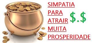 simpatia atrair riqueza