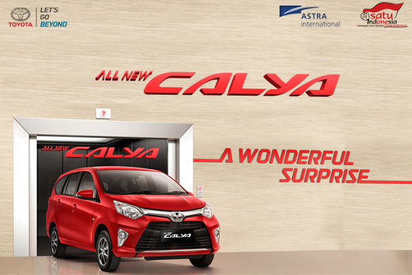 All New Toyota Calya Surabaya