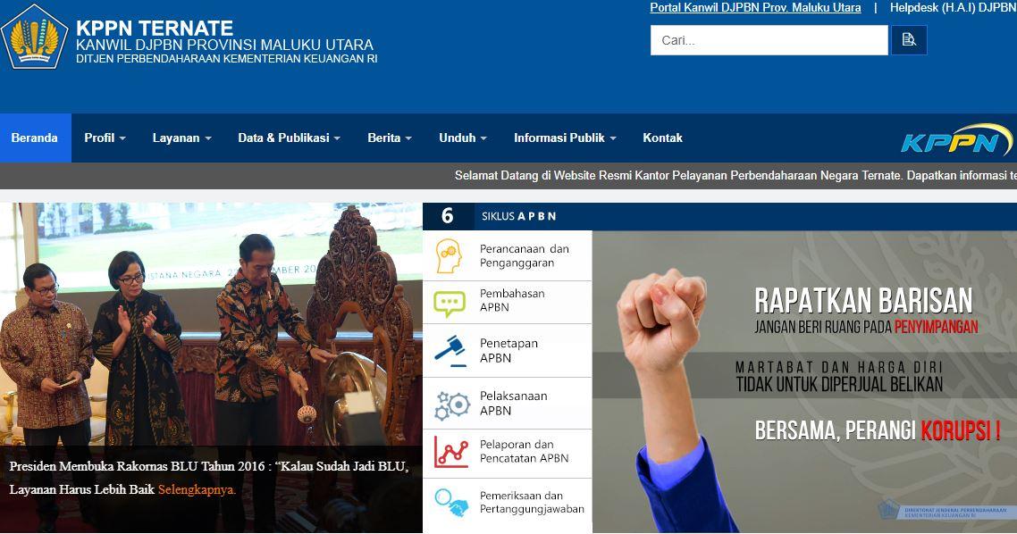 Alamat Lengkap Dan Nomor Telepon Kantor KPPN Di Maluku Utara