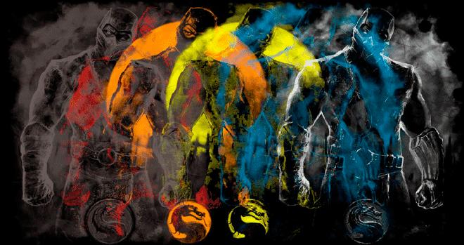 separación de colores por Indexado, en total se consiguieron 6 colores en total.