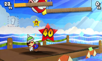 Paper Mario Sticker Star Spike Helmet giant Cheep Cheep