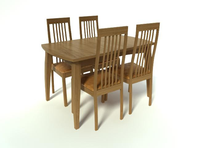 16 [3D Model Free] Table