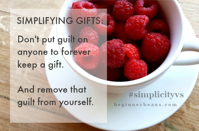 Simplifying Gifts
