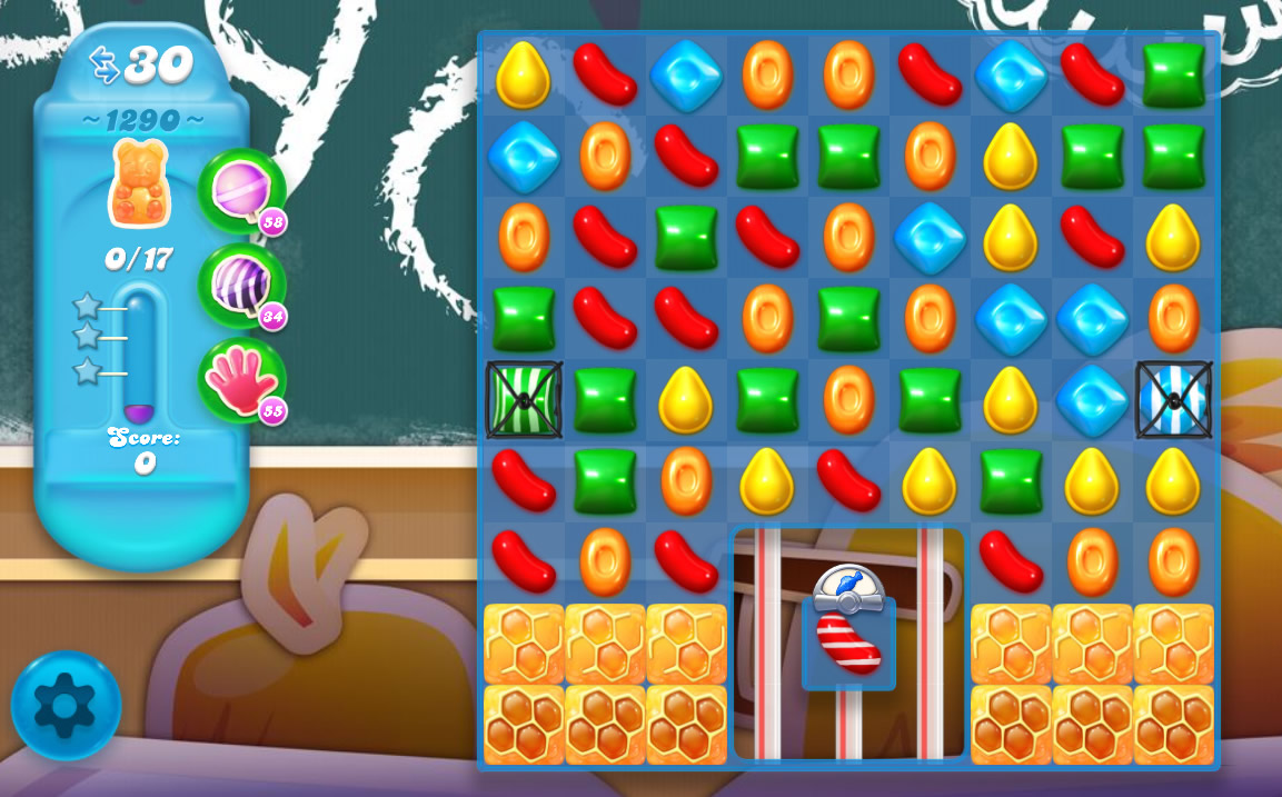 Candy Crush Soda Saga level 1290