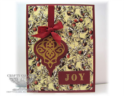 CraftyColonel Donna Nuce for Club Scrap Christmas Thyme bloghop