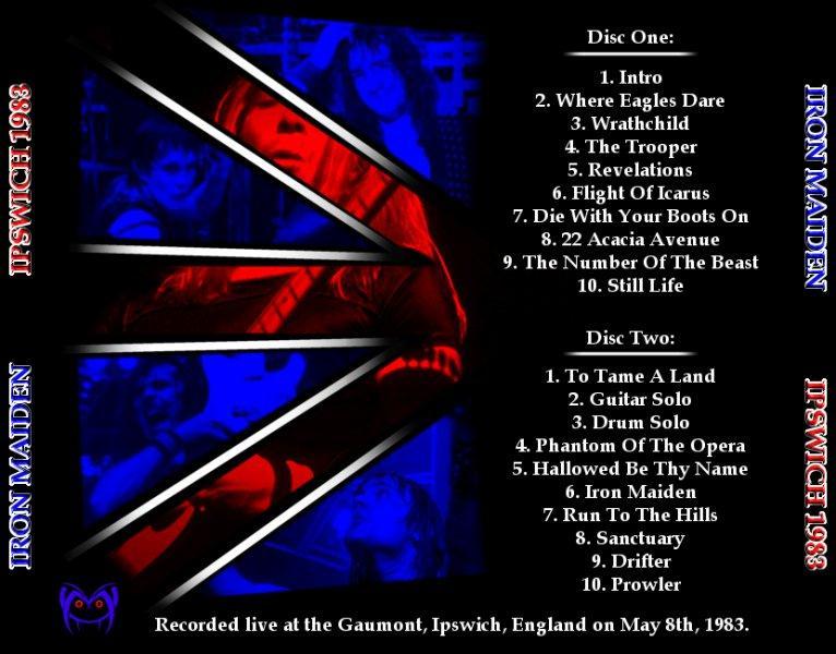 RELIQUARY: Iron Maiden [1983.05.08] Smiler's Corrected ...