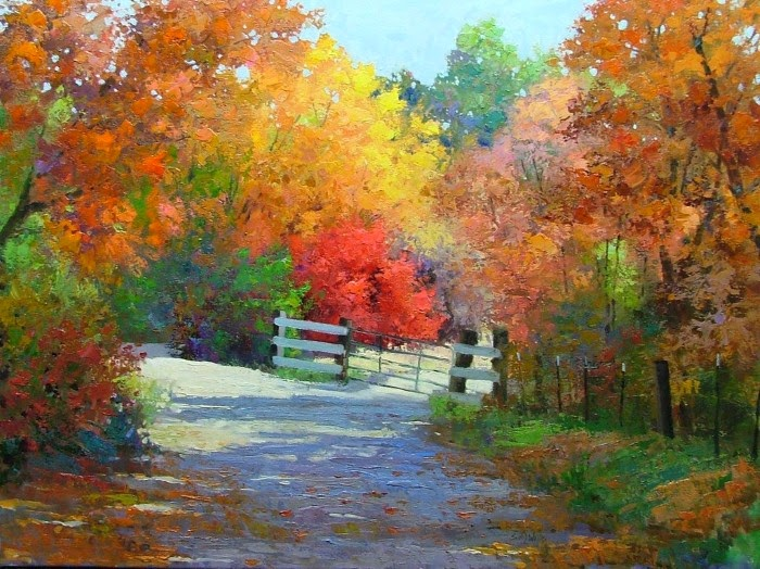 Художник-импрессионист. Sean Wallis