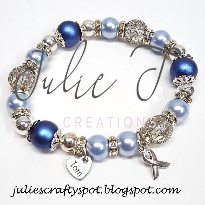 Julie S Crafty Spot Colon Cancer Awareness Bracelet