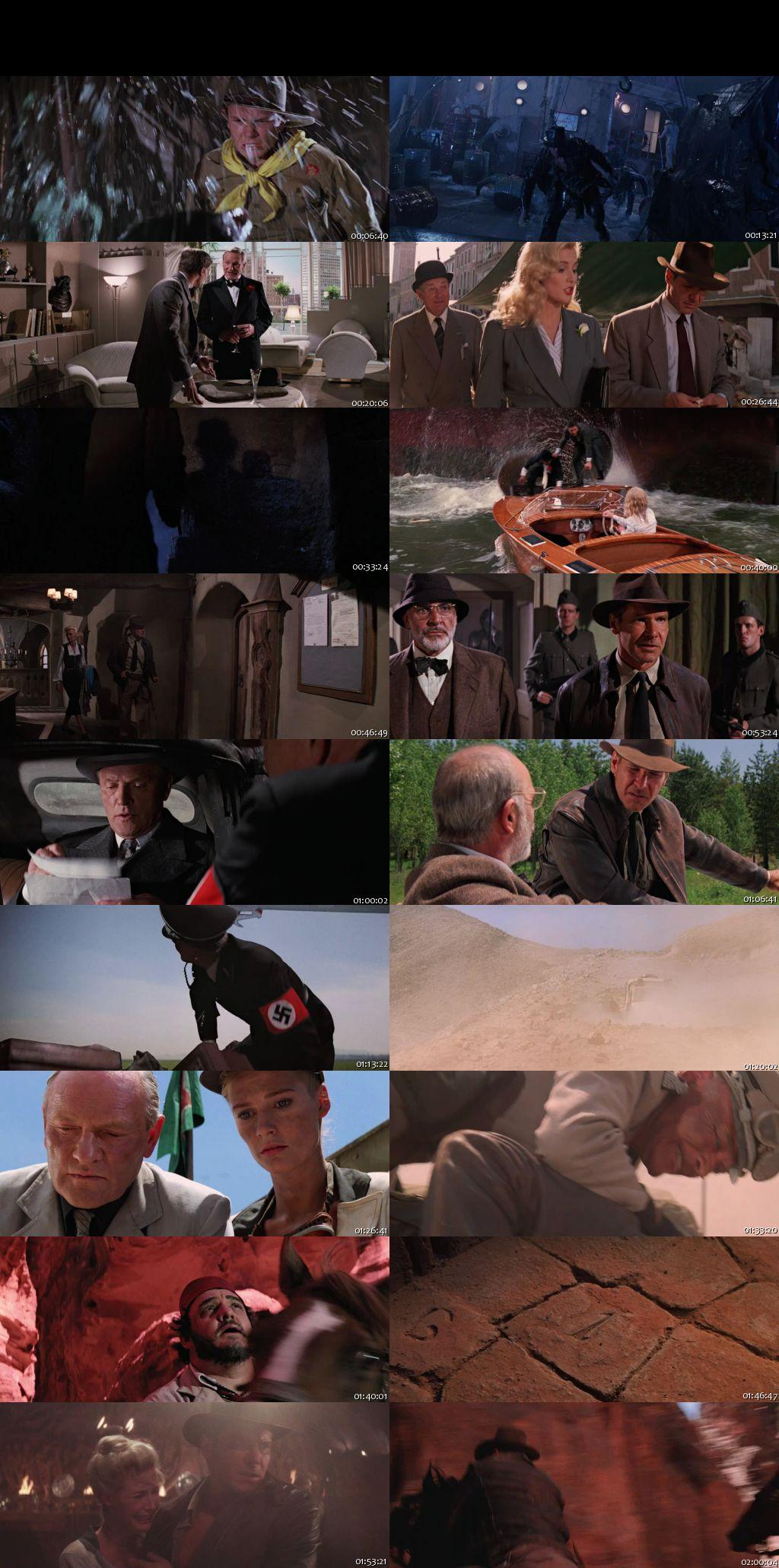 Screen Shot Of Indiana Jones and the Last Crusade 1989 In Hindi English Dual Audio Bluray